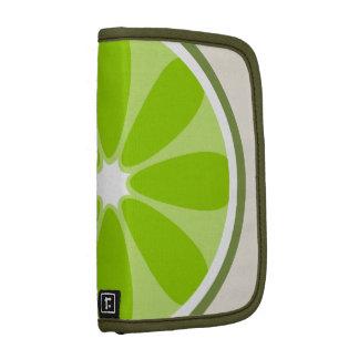 Lime Slice Rickshaw Folio Planners