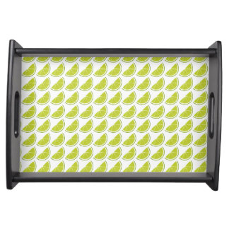 Lime Slice serving tray
