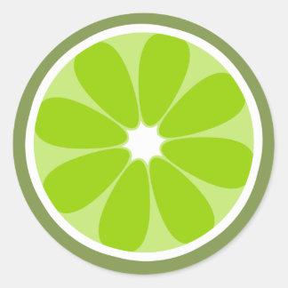 Lime Slice Sticker