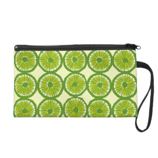 Lime Slices - 1 Wristlet