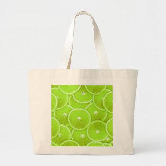 Lime slices bag