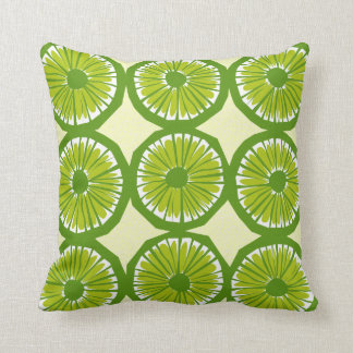 Lime Slices Large - 2 Cushion