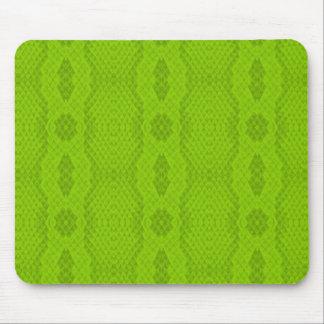 Lime Snakeskin Mousepad