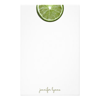 Lime Stationery