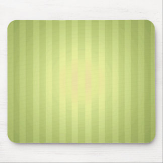 Lime Stripes with Highlight Mouse Pad