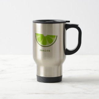Lime Wedge Travel Mug