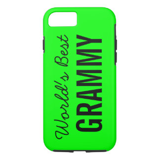 Lime World's Best Grammy Custom iPhone 7 iPhone 7 Case