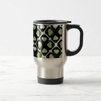 limegreenretrotwirl coffee mugs