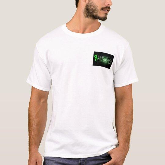 Limelight Mental Health Small Logo Black T-Shirt