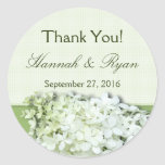 Limelight Personalised Round Wedding Favour Label