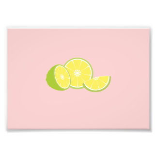 limes photo print