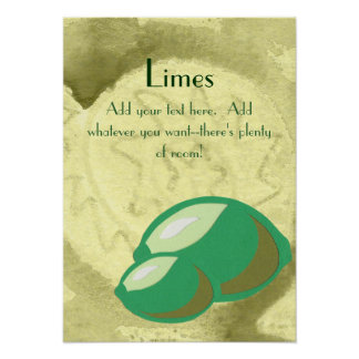 Limes Poster