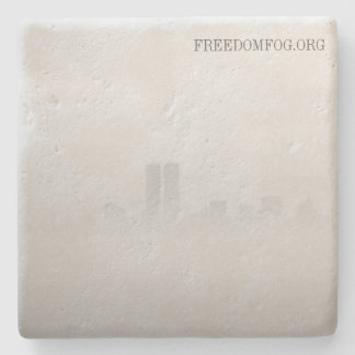 Limestone coaster - Freedom Fog Stone Coaster