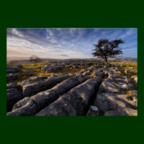 Limestone Country - Ribblesdale Poster