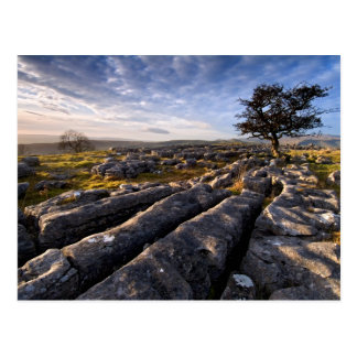Limestone Country, Yorkshire Dales post card