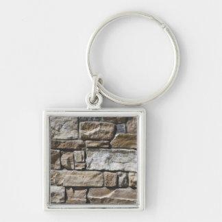 Limestone Rock Wall Keychain