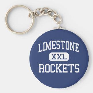 Limestone - Rockets - Community - Bartonville Key Ring