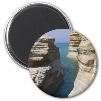 Limestone Rocks Rocks On Corfu Island Magnet