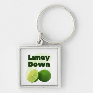 Limey Down Key Chain