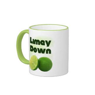 Limey Down Ringer Mug