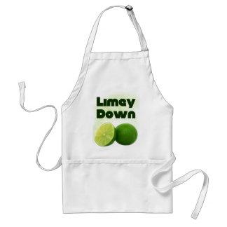 Limey Down Standard Apron