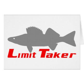 LIMIT TAKER GREETING CARD