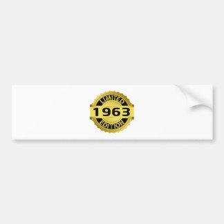Limited 1963 Edition Bumper Sticker