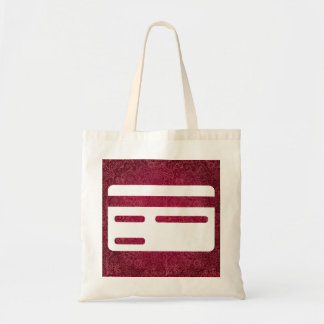 Limited Credits Pictograph Budget Tote Bag