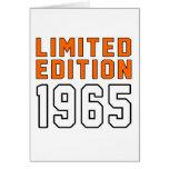 Limited Edition 1950 Birthday Designs Card