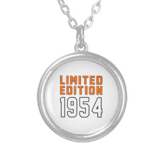 Limited Edition 61 Birthday Designs Personalized Necklace