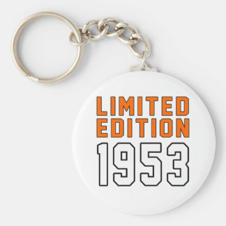 Limited Edition 62 Birthday Designs Key Chains