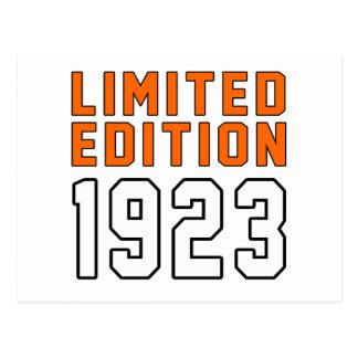 Limited Edition 92 Birthday Designs Postcard