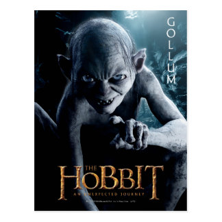 Limited Edition Artwork: Gollum Postcard