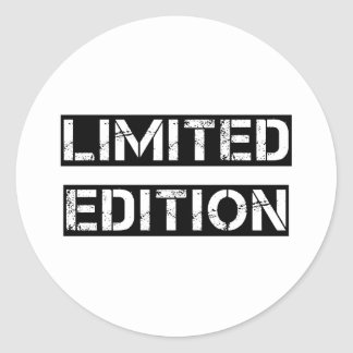 Limited Edition Classic Round Sticker