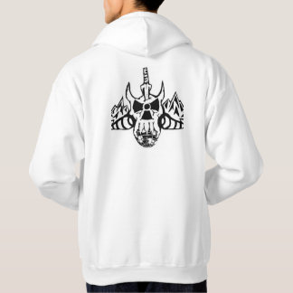 Limited Edition Eartboarder Logo Skull Hoodie