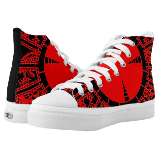"Limited Edition ""Enter the Demon"" Kickers Printed Shoes"