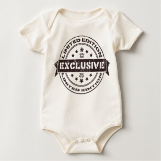 Limited edition exclusive baby stamp baby bodysuit