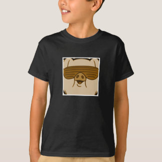 Limited edition gold piggy t shirt