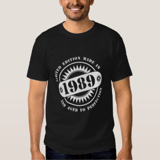 LIMITED EDITION MADE IN 1989 TSHIRT