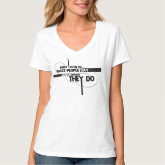 """LIMITED EDITION - Quotes """"They Do"""" woman T-Shirt"""