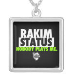 Limited Edition Rakim Status Chain Personalized Necklace