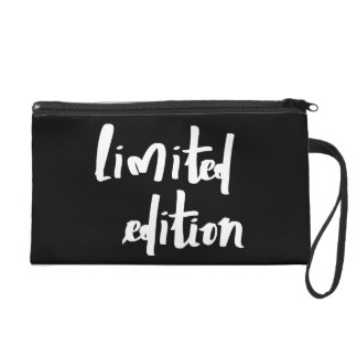 Limited edition wristlet