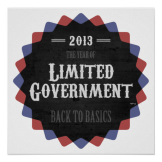Limited Government 2013 Poster
