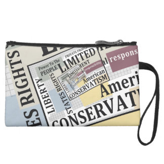 Limited Government Wristlet Clutch