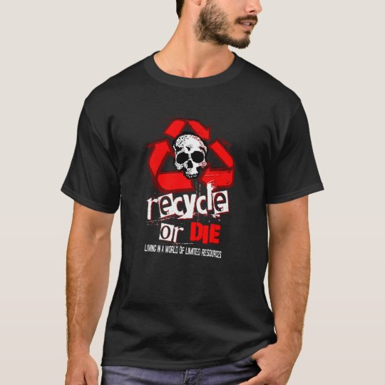 Limited Resources Recycle RED Shirt