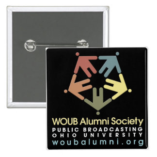 Limited Time WOUB Alumni Society Button