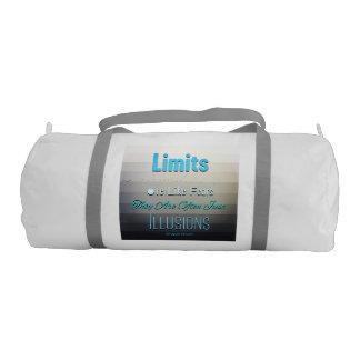 Limits 😜😊 gym duffel bag