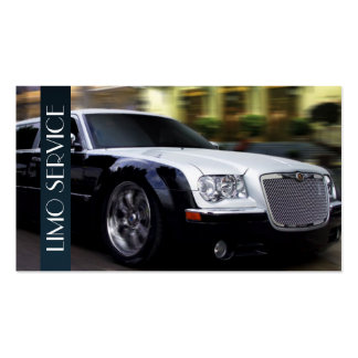 Limo, Limousines Service, Taxi Driver Business Pack Of Standard Business Cards