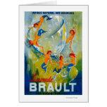 Limonade Brault Vintage PosterEurope Card