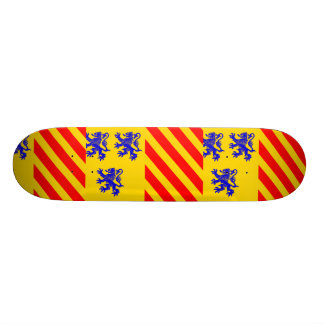 Limousin (Alternate), France flag Skateboards